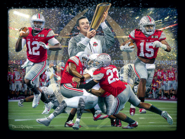"""""""Champions of a New Era"""" - 2014 College Football Game of the Year® - Ohio State vs. Oregon."""