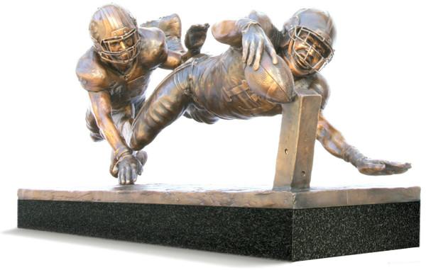 Finish! - Medium, Bronze Cast - Alabama Football 2015 National Champions (Kenyan Drake)