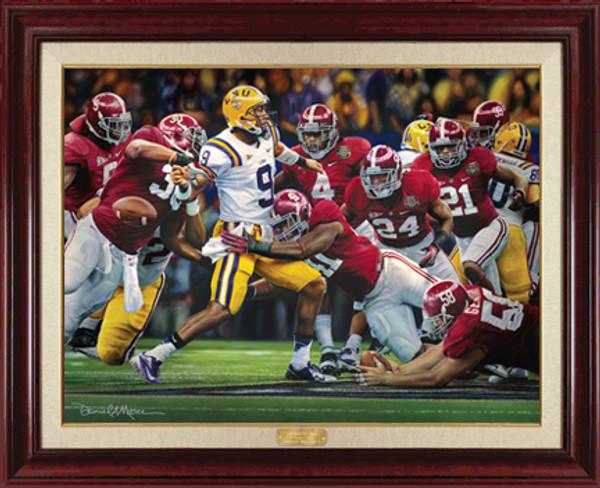 The Shutout - Canvas Editions - Alabama Football 2011 National Champions