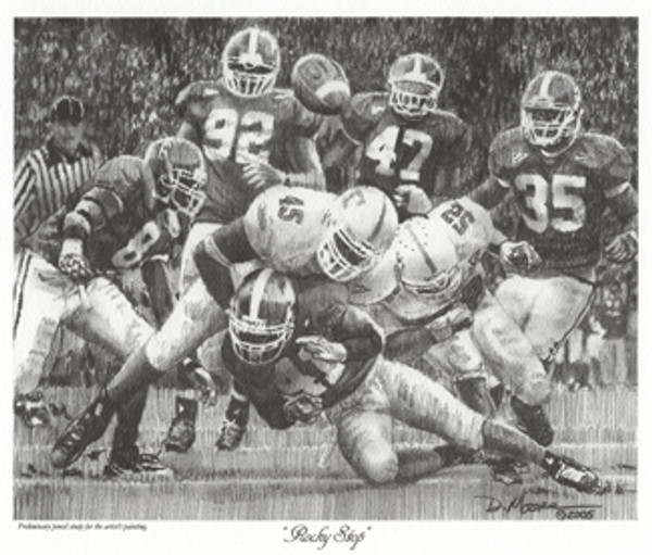 Rocky Stop - Pencil Drawing