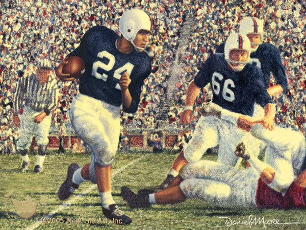 Iron Bowl 1954 by Daniel A. Moore