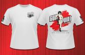 Gun Point Girl - SPWS Logo Shirt (Ash White)