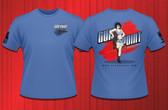 Gun Point Girl - SPWS Logo Shirt (Blue)