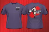 Gun Point Girl - SPWS Logo Shirt (Purple)