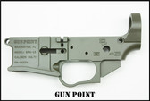 GUN POINT - GPM-15 MULTI CAL STRIPPED BILLET LOWER RECEIVER (OD GREEN)