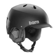 Bern Watts men's ski helmet black