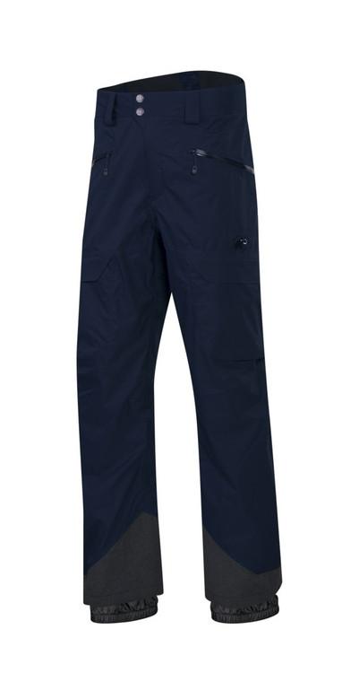 Mammut Stoney hs men's ski pants marine front