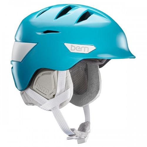 Bern Hepburn women's ski helmet teal