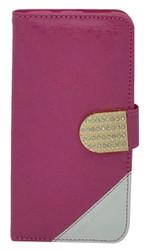 LG Volt 2 Design Wallet with Bling Pink