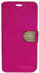 SAMSUNG NOTE 5 Glitter Bling Wallet Pink