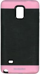 Samsung Note 4 MM Slim Duo Case Black & Pink
