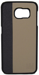 Samsung Galaxy S6 MM leather  Bumper Golden