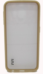 Samsung Galaxy S6 Clear Bumper Golden