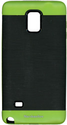Samsung Note 4 MM Slim Duo Case Black & Green