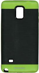 Samsung Note 4 MM Slim Duo Case Black & Green