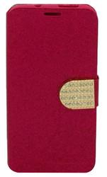 HTC Desire 626s Glitter Bling Wallet Red