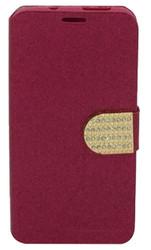 HTC Desire 626s Glitter Bling Wallet Pink
