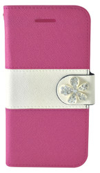 Samsung Galaxy S6  MM Flower Wallet Pink