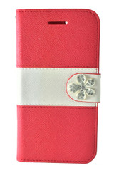 Samsung Galaxy S6  MM Flower Wallet  Red