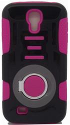 Samsung S3 Ring Hybrid Black & Pink