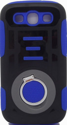 Samsung S3 Ring Hybrid Black & Blue