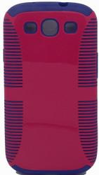 Samsung Galaxy S3 Dual Layer Pink & Blue