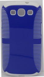 Samsung Galaxy S3 Dual Layer Blue & White