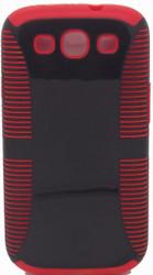 Samsung Galaxy S3 Dual Layer Black & Red