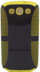 Samsung Galaxy S3 Dual Layer Black & Yellow