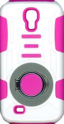 Samsung Galaxy S4 Ring Hybrid White & Pink