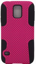 Samsung Galaxy S5 Mesh Combo Pink