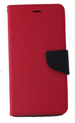 ZTE ZMAX Professional Wallet Red
