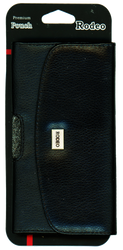 Samsung Note 3/4/5 Leather Pouch Metal Logo With Case