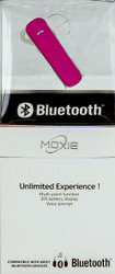 Moxie X3S Stereo Bluetooth Pink