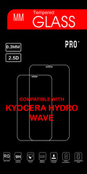 Kyocera Hydro WaveTempered Glass