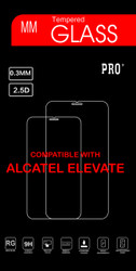 Alcatel Elevate  Tempered Glass