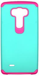 LG G Flex 2 MM Slim Dura Case Green & Pink