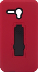 Alcatel Fierce XL Armor Horizontal With Kickstand Red