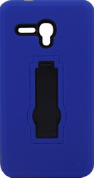 Alcatel Fierce XL Armor Horizontal With Kickstand Blue