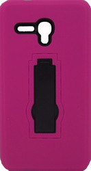 Alcatel Fierce XL Armor Horizontal With Kickstand Pink