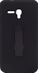 Alcatel Fierce XL Armor Horizontal With Kickstand Black