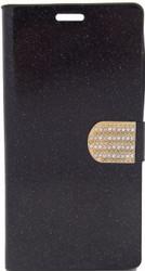 ZTE ZMax 2 Glitter Bling Wallet Black