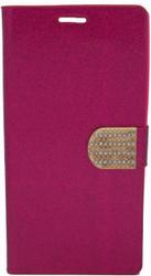 ZTE ZMax 2 Glitter Bling Wallet Pink