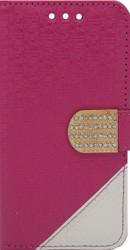 ZTE Obsidian Design Wallet With Bling Pink