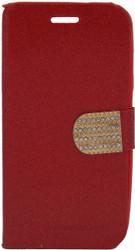 ZTE Obsidian Glitter Bling Wallet Red