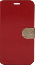 Alcatel Fierce XL Glitter Bling Wallet Red