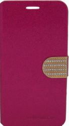 Alcatel Fierce XL Glitter Bling Wallet Pink