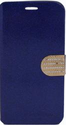 Alcatel Fierce XL Glitter Bling Wallet Blue