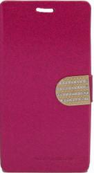 LG G Flex 2 Glitter Bling Wallet Pink