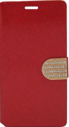 LG G Flex 2 Glitter Bling Wallet Red